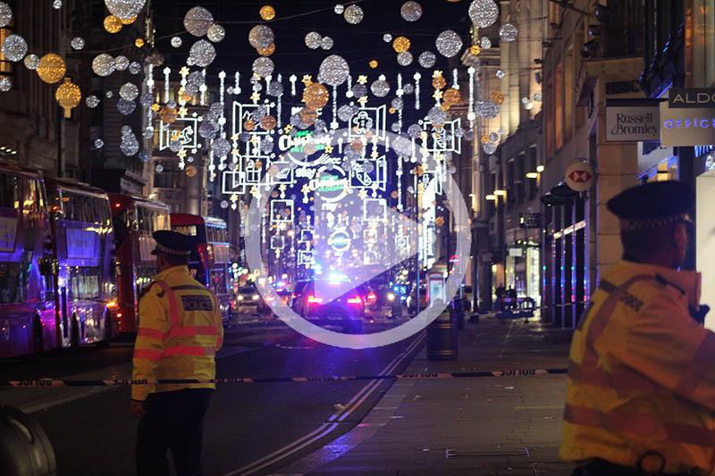 Masowy wybuch paniki w Londynie. Ludzie krzyczeli ze strachu.