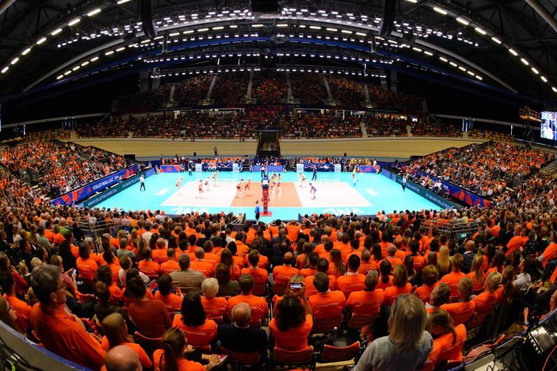 Kibicuj Polakom w Rotterdam  Ahoy Arena  w Mistrzostwach Europy.